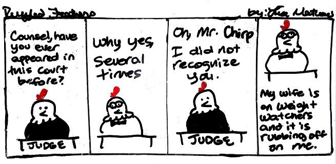Mr. Chirp LosesWeight