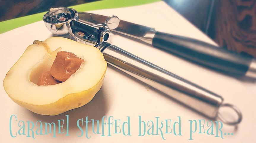 Baked Caramel Pears