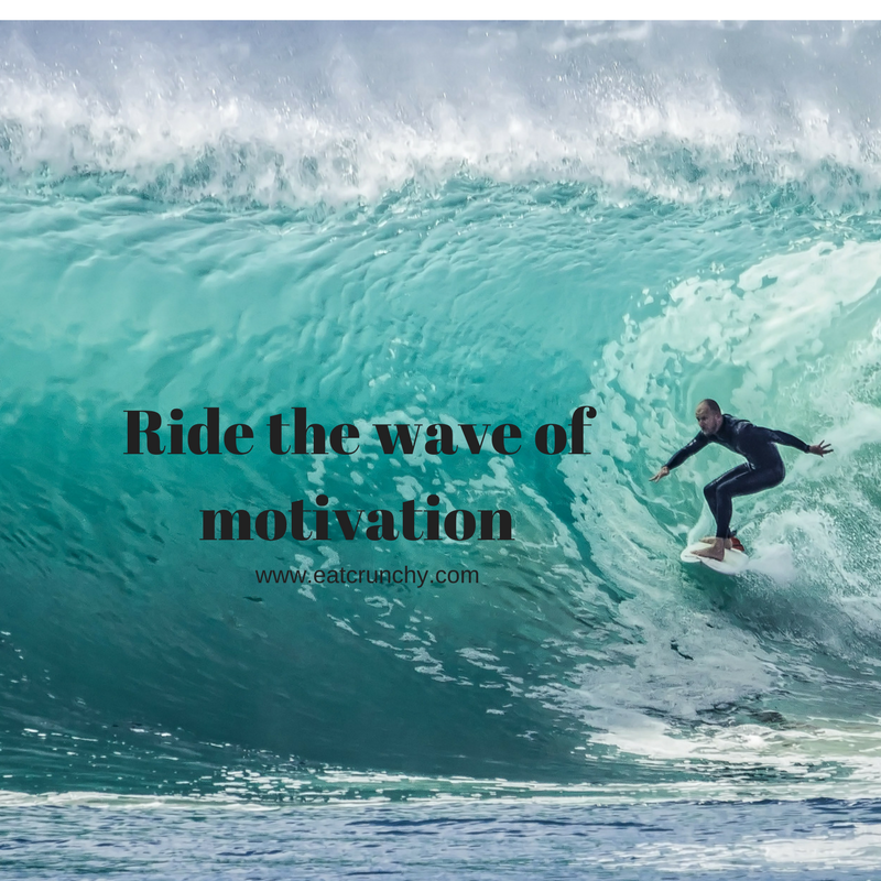 Ride the wave ofmotivation